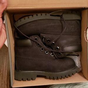 Toddler Timberland Boots-Black